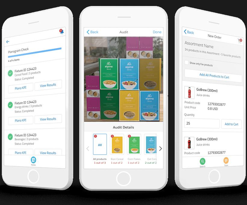 Mejores experiencias para clientes de bienes de consumo con Salesforce