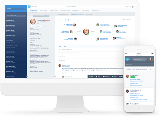 Salesforce para salud, consultoría e implementación
