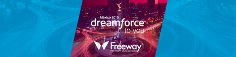 Exitosa Participación de Freeway en Dreamforce to you México 2015