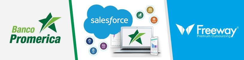 Banca Promerica amplía el uso de Salesforce