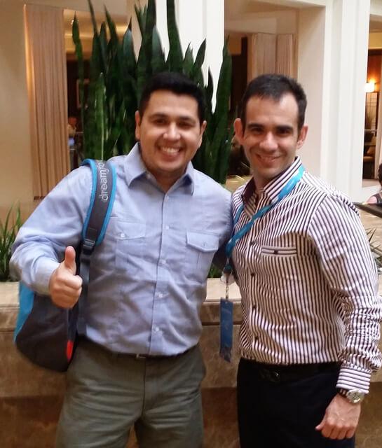 Fabio Junio De Andrade,. Líder para América Latina de Salesforce en Rochey Oscar Emo
