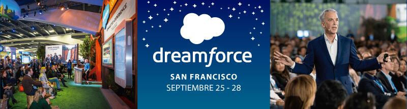 Dreamforce San Francisco, septiembre 25-28