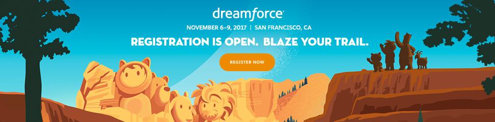 Registro a Dreamforce 2017