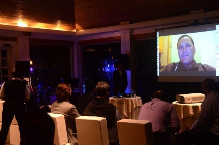 Video conferencia de David Murphy