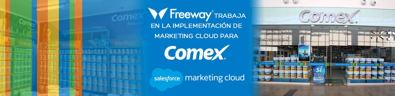 Freeway trabaja en la implementación de Marketing Cloud para Comex