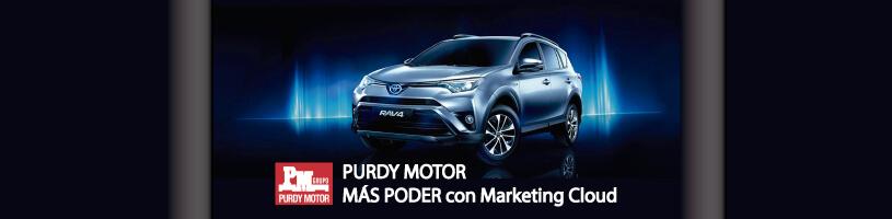Purdy Motor implementa Marketing Cloud con Freeway