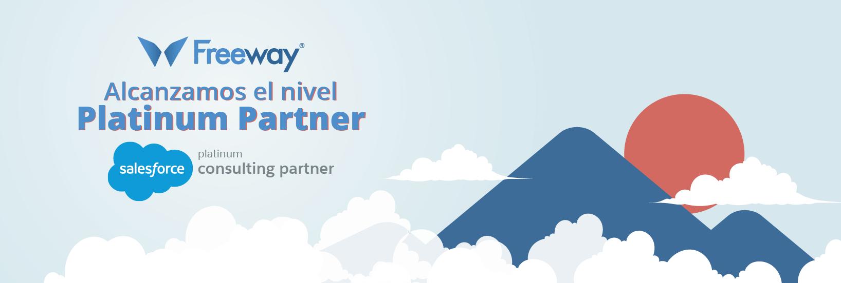 Freeway alcanza el nivel Platinum Consulting Partner de Salesforce