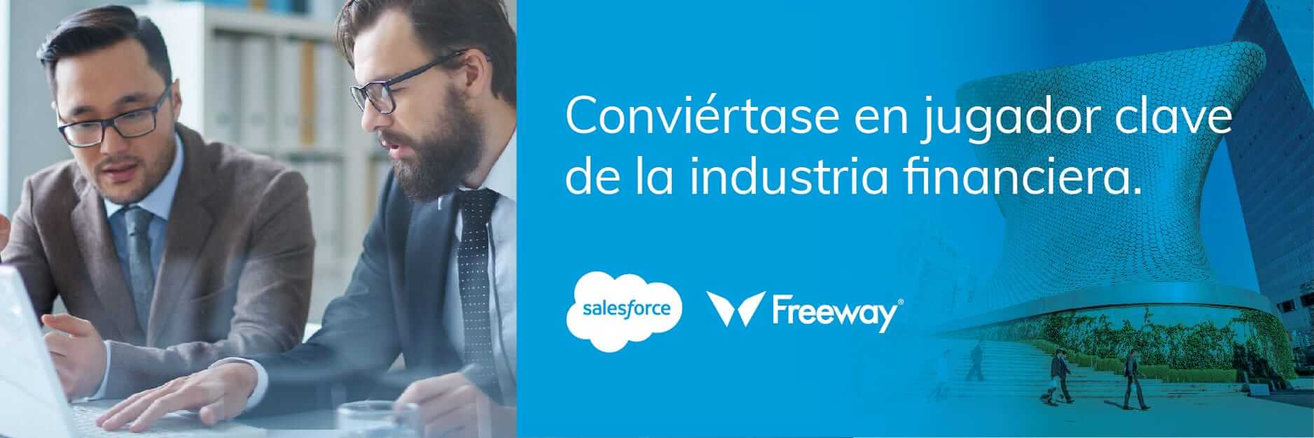 Domine exitosamente la revolución digital del mercado financiero con un Salesforce partner