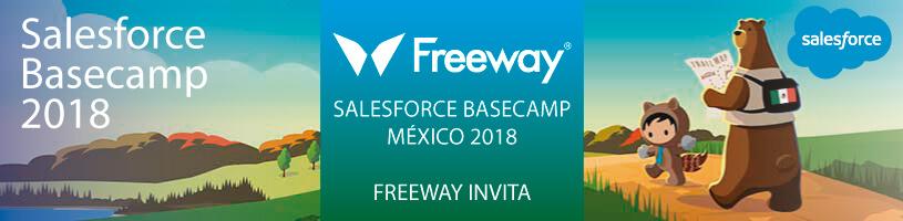 Freeway invita al Salesforce Basecamp México 2018