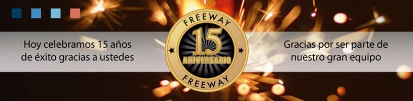 Freeway Celebra 15 años de éxito
