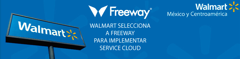 Walmart selecciona a Freeway para implementar Salesforce Service Cloud