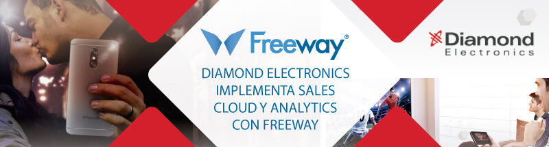 Diamond Electronics implementa Sales Cloud y Analytics con Freeway
