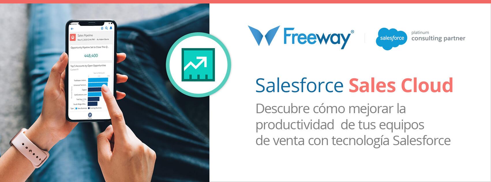 Salesforce Sales Cloud mejora la productividad de tu equipo de ventas