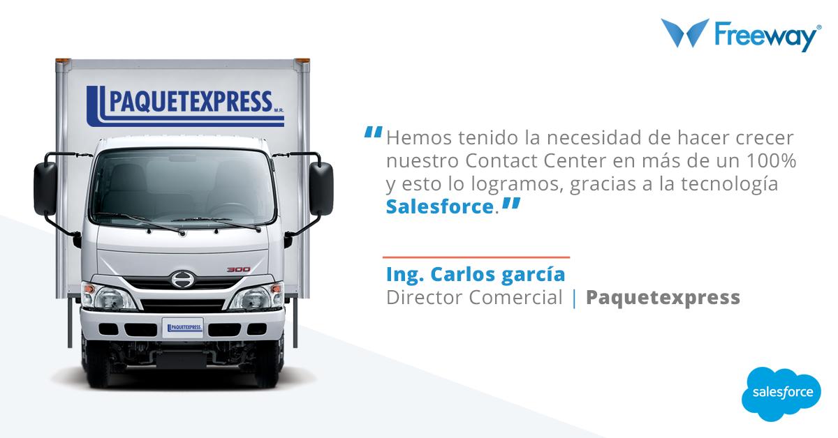Salesforce para Paquetexpress